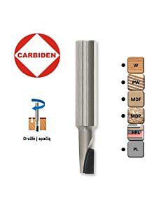 8mm 12 x 8 x 60, Z1, Deimantinė freza ( NEG 5°) drožlė į apačią, 430351/000196, CARBIDEN,CNC, tools,  Multisistema,