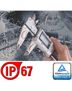 Elektroninis slankmatis 0 - 150mm, ABSOLUTE CoolantProof IP67, Data MITUTOYO, Japonija