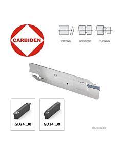 GBN-2603-GO2403 Atpjovimo laikiklis GD24..-30, GO24..-30 - 3mm pločio plokštelėms, neutralus. CARBIDEN, 12167262