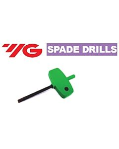 Torx 15, hand driver 2,5 Spade Drills, YG