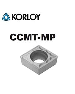 CCMT060202-MP CN1500, KORLOY, Tekinimo plokštelė KERMET