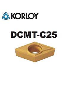 DCMT070204-C25 CN2000, KORLOY, tekinimo plokštelė
