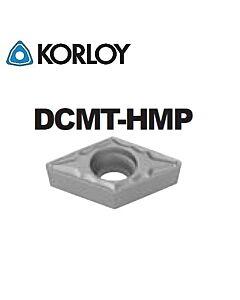 DCMT070202-HMP CN2500, KORLOY, Tekinimo plokštelė KERMET atspari smūgiams ir vibracijoms
