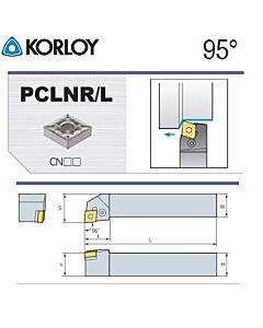 Tekinimo laikiklis, PCLNR1616-H12, KORLOY