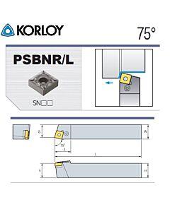 Tekinimo laikiklis, PSBNL2020-K09N, KORLOY