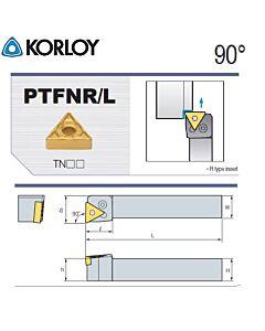 Tekinimo laikiklis, PTFNL2020-K16N, KORLOY
