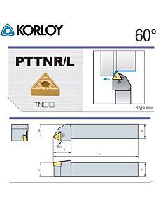 Tekinimo laikiklis, PTTNR1616-H16, KORLOY