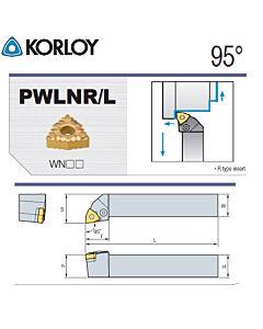 Tekinimo laikiklis, PWLNR1616-H06, KORLOY