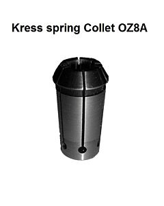 8mm, Kress OZ8A/EOC8A, DIN6388A, 401E, Spyruoklinis laikiklis