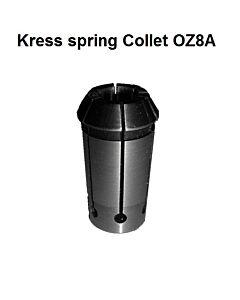 3,175mm, 1/8In Kress OZ8A/EOC8A, DIN6388A, 401E, Spyruoklinis laikiklis