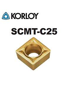 SCMT09T304-C25 CN2000, KORLOY, tekinimo plokštelė