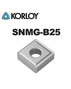 SNMG120408-B25 CN2500, KORLOY, Tekinimo plokštelė KERMET atspari smūgiams ir vibracijoms