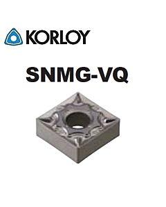 SNMG120404-VQ CN2500, KORLOY, Tekinimo plokštelė KERMET atspari smūgiams ir vibracijoms