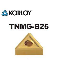 TNMG110308-B25 NC6205, KORLOY, tekinimo plokštelė