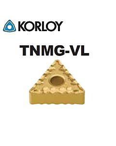 TNMG160404-VL CN2000, KORLOY, tekinimo plokštelė