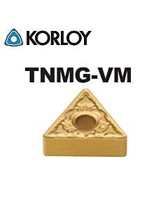 TNMG110308-VM NC6205, KORLOY, tekinimo plokštelė