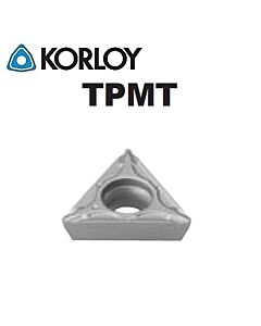 TPMT110304-VL CN2500, KORLOY, Tekinimo plokštelė KERMET atspari smūgiams ir vibracijoms