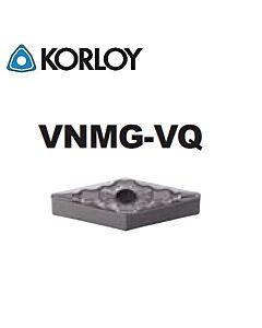 VNMG160408-VQ CN2500, KORLOY, Tekinimo plokštelė KERMET atspari smūgiams ir vibracijoms
