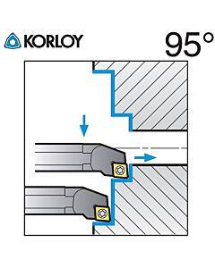 Vidinio tekinimo laikiklis, S10K-SCLCL-06, KORLOY