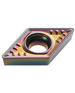 DCMT 11T308-WM+ CTPM125, Kietmetalio tekinimo plokštelė, Plienui ir nerūdijančiam plienui, CARBIDEN, Profi-Line