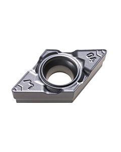 DCMX 070204-PWX CTCP125, Kietmetalio tekinimo plokštelė, Plienui, CARBIDEN, Profi-Line