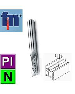 3mm 8 x 6 x 50, Z1 Kietmetalio freza Aliuminiui ir Plasmasei frezuoti, ZPS-FN, S100602-030