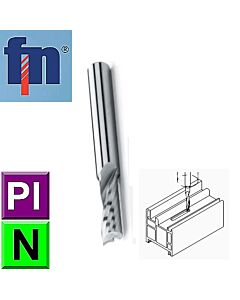 5mm, 13 x 6 x 54, Z1, Kietmetalio freza aliuminiui ir plastikui frezuoti, ZPS-FN, S100602.050, Multisistema, Mstools.