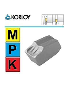 3mm, pločio, Atpjovimo plokštelė kietmetalinė SP300-A H01, aliuminiui, KORLOY