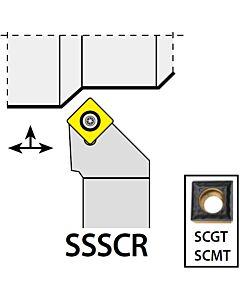 SSSCR1212F09, 12X12X80XRH/SC09T3,  ISO Tekinimo laikiklis, išorinis, YG