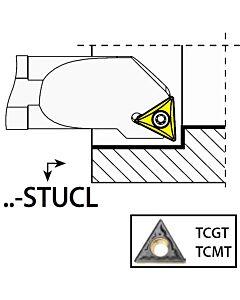S12K-STUCL11, 17X12X125XLH/TC1102,  ISO Tekinimo laikiklis, vidinis, YG