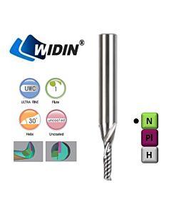 6mm  x 15 x 6 x 60, Kietmetalinė freza aliuminio ir plasmasė lakšto frezavimui, WIDIN, WAE301060, Multisistema, Mstools.