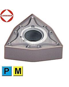 WNMG080408 DL1250, Tekinimo plokštelė kietmetalinė su danga, vidutiniam darbui, skirta nerūdijančiam plienui, CARBIDEN