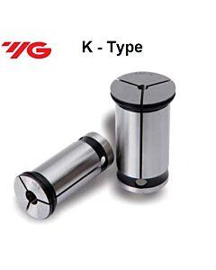K25-16, K Tipo cilindriniai spyruokliniai laikikliai,  YG