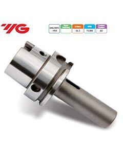 HSK63A-MTA1-100, morzės tipo laikiklis, grąžtui, DIN228B, DIN 69893 HSK (ISO 12164-1 HSK), YG