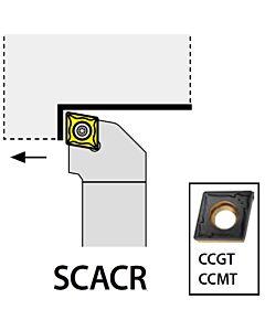 SCACR0808E06,  8X08X70XRH/CC0602,  ISO Tekinimo laikiklis, išorinis, YG