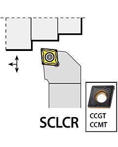SCLCR1616H12, 16X16X100XRH/CC1204,  ISO Tekinimo laikiklis, išorinis, YG